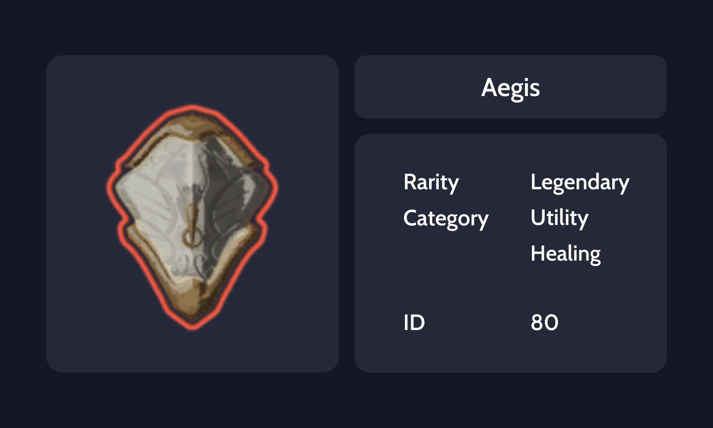 Aegis Info Card