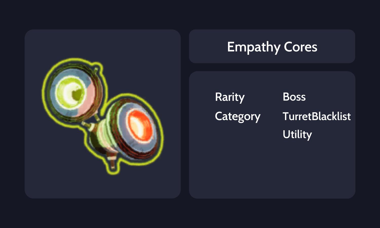Empathy Cores Info Card