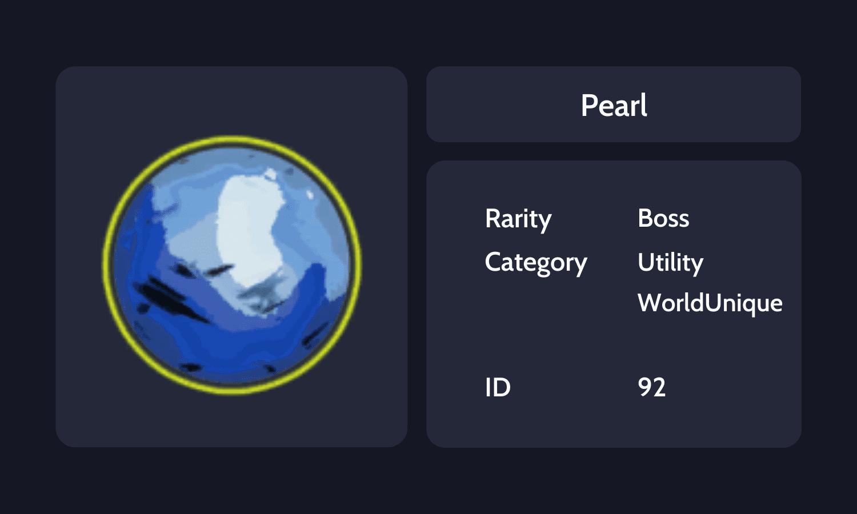Pearl Info Card