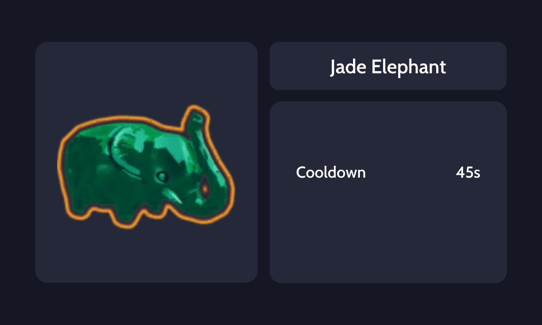 Jade Elephant Info Card