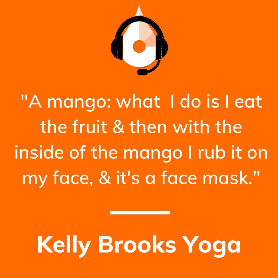 Kelly Brooks Yoga Podcast