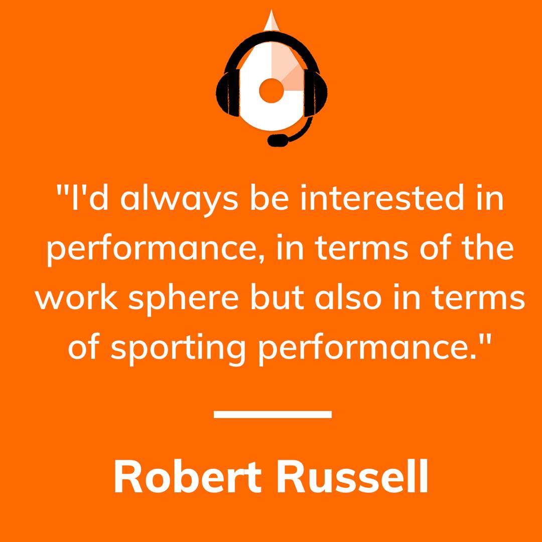 Robert Russell Sports Hypnotherapist