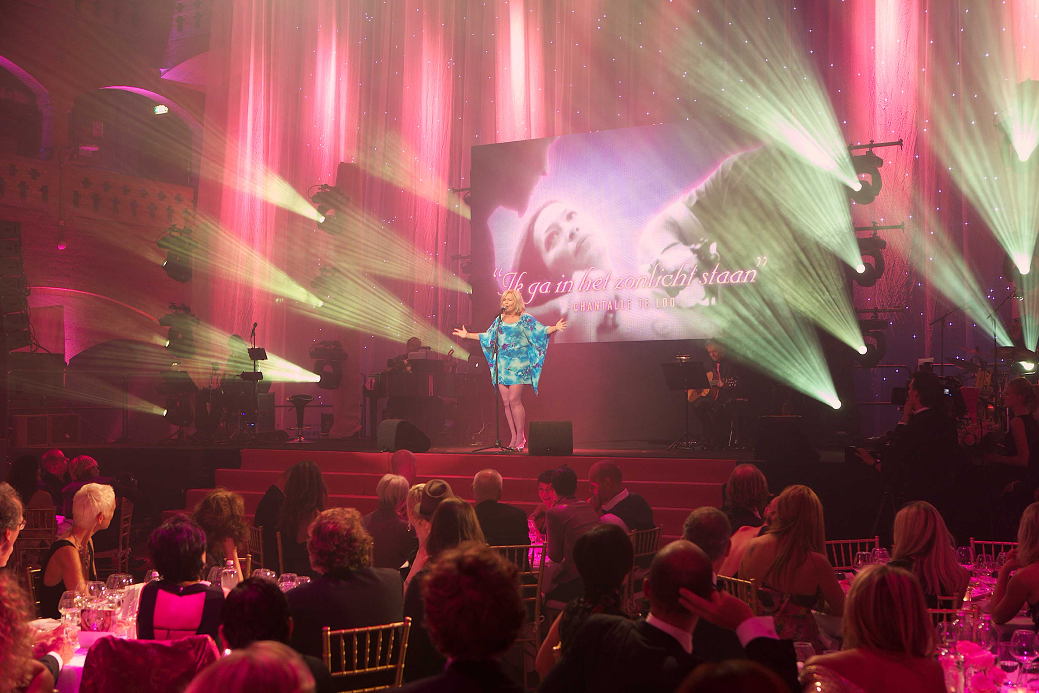 Estee Lauder Pink Ribbon Award Gala