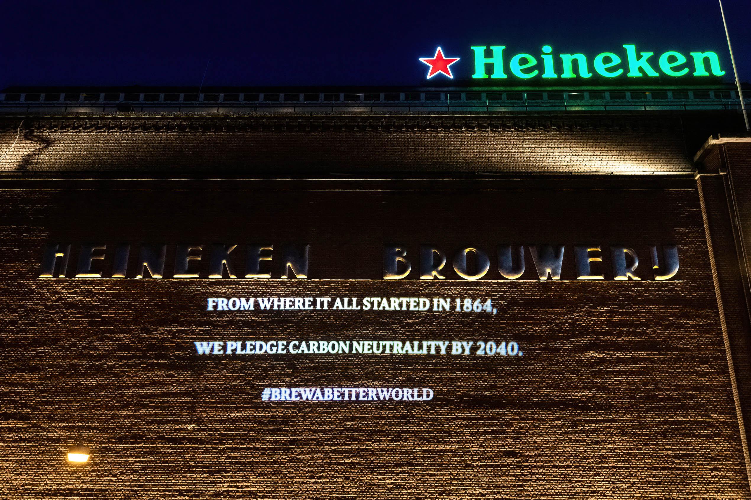 Heineken Experience Projection