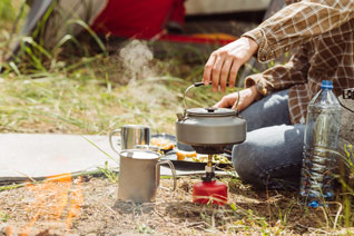 4 Ways to Camp with Propane