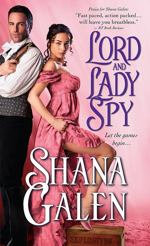 the cover of lord and lady spy by shana galen, which deals with miscarriages and other issues of infertility