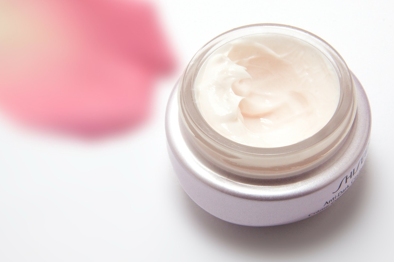 jar of beauty cream
