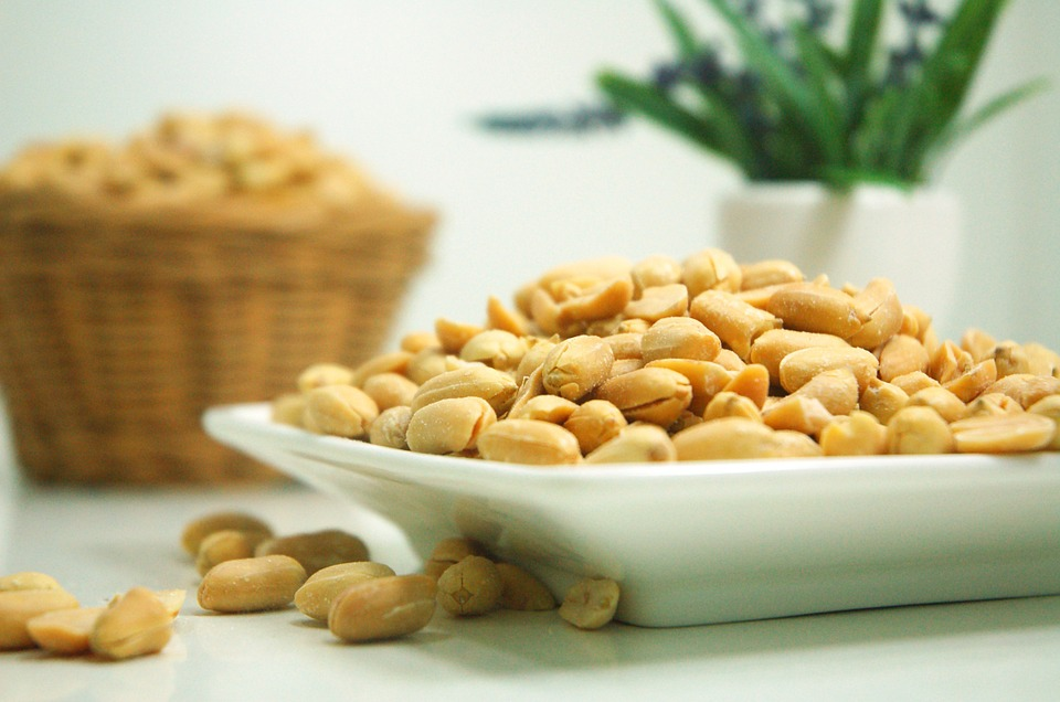 A plate of peanuts is full of nutritional value