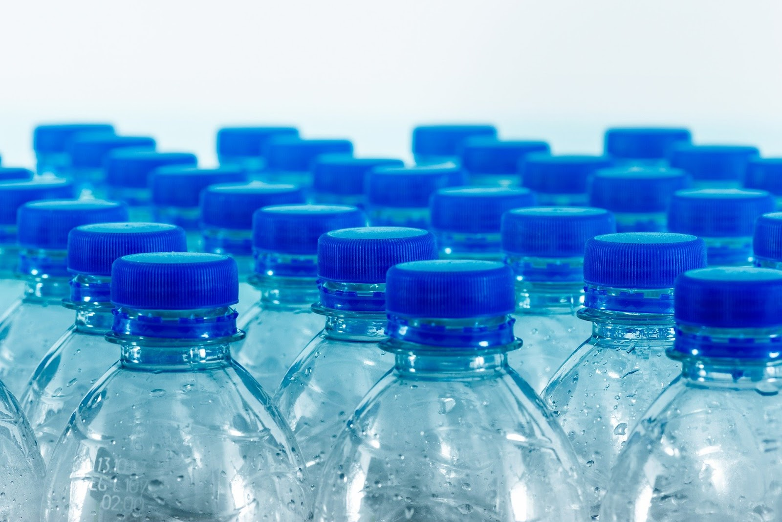 Disposable plastic water bottles that contain BPA
