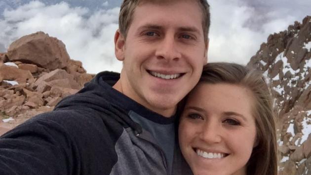 Joy-Anna and Austin Forsyth on a hiking trip
