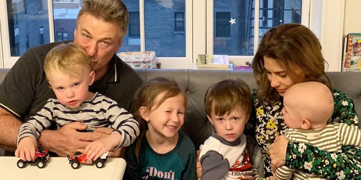 Alec and Hilaria Baldwin spending quality time with their kids
