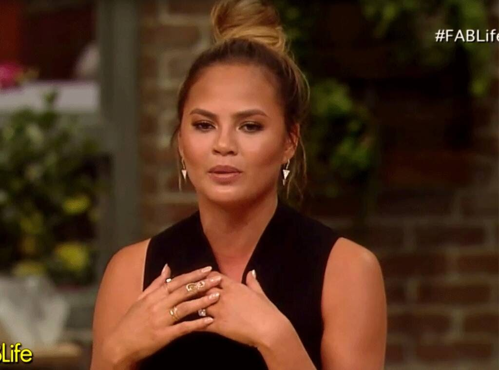 Chrissy Teigen sharing fertility struggles for the first time