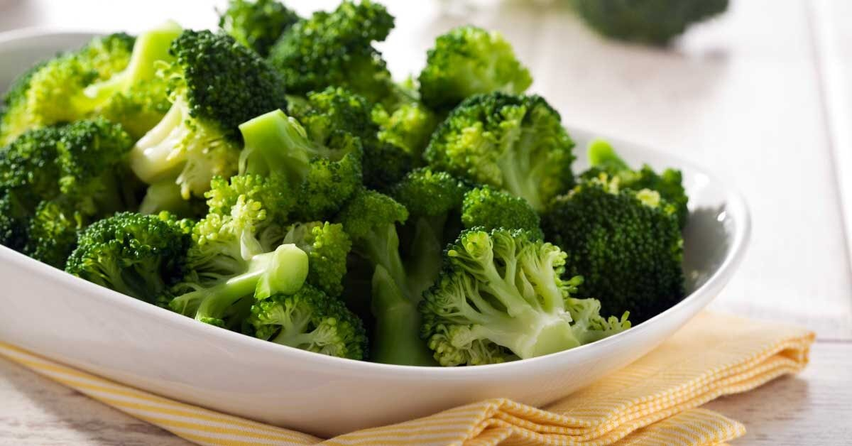 Adding in servings of green veggies is an efficient way to pack in vitamins and fend off constipation due to all that fiber. Image courtesy of healthline.com.