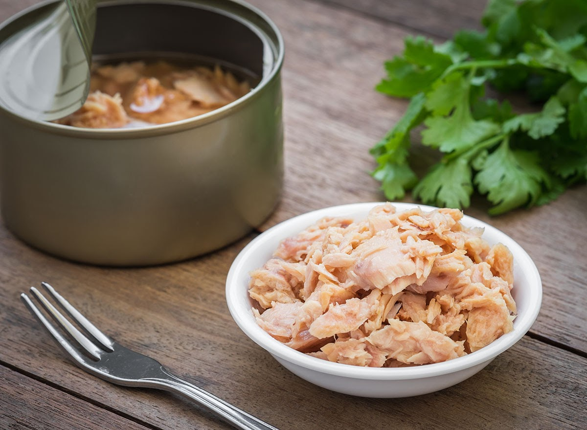 High-mercury fish, including tuna, have no known safe level of exposure and therefore should be avoided while pregnant or breastfeeding. Image courtesy of eatthis.com.