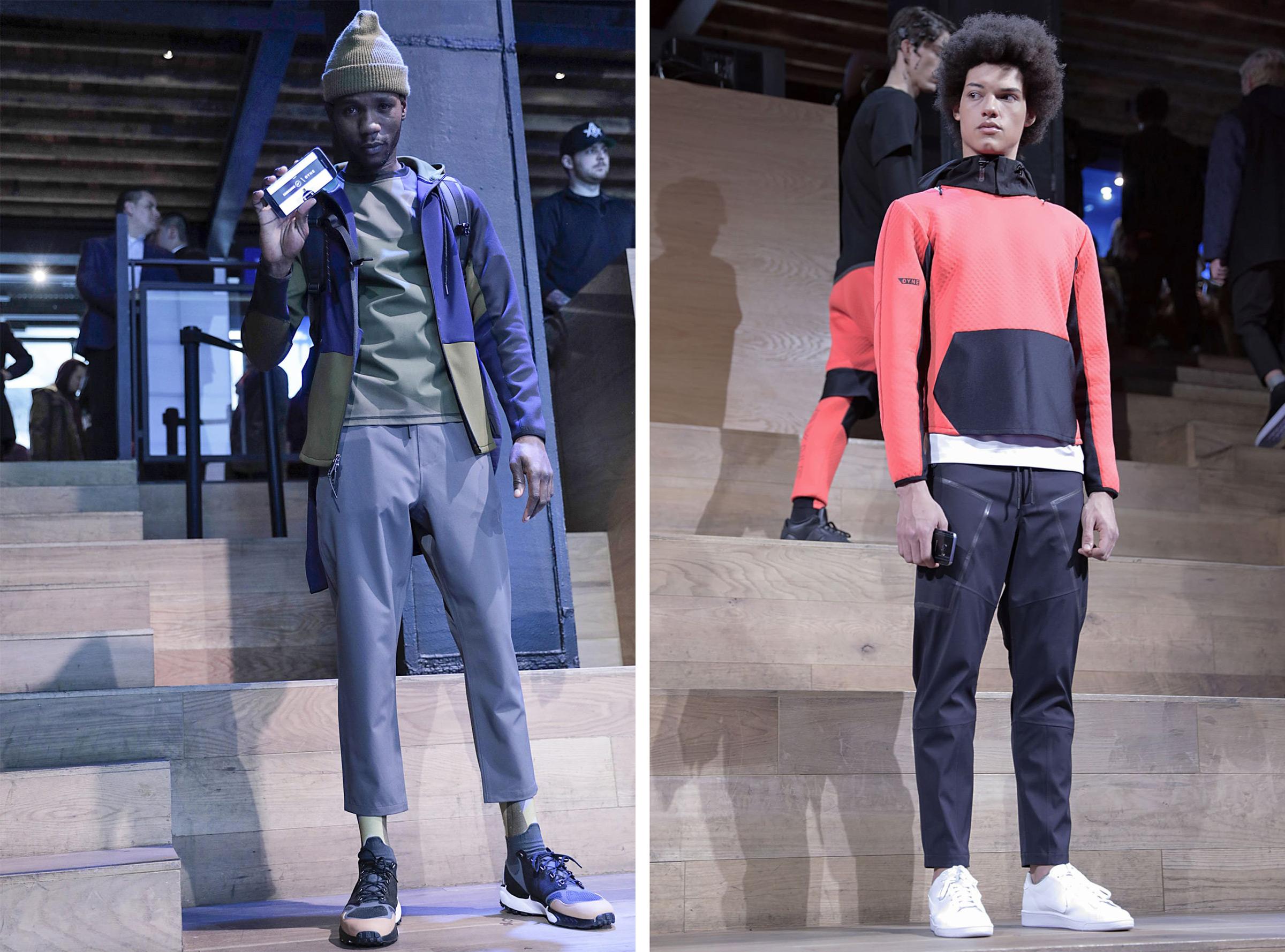 DYNE X Samsung Fashion Show