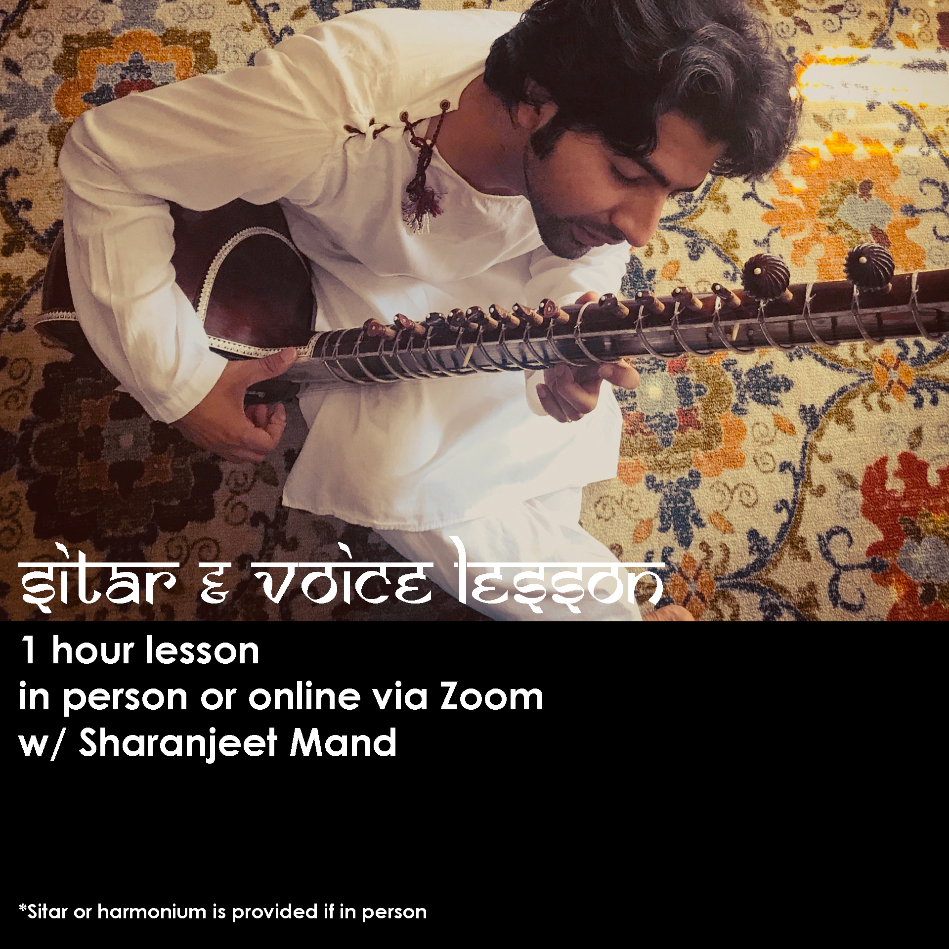 Sitar & Vocal Lessons