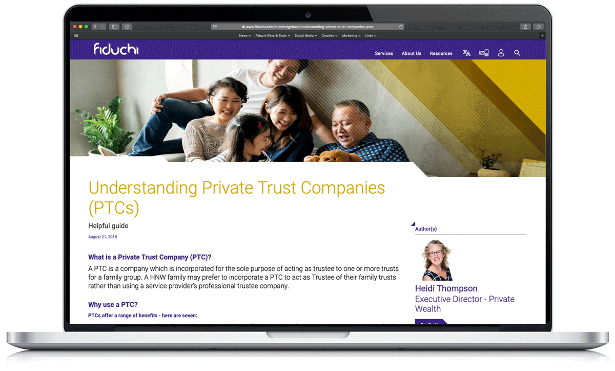 Understanding Private Trust Companies PTCs