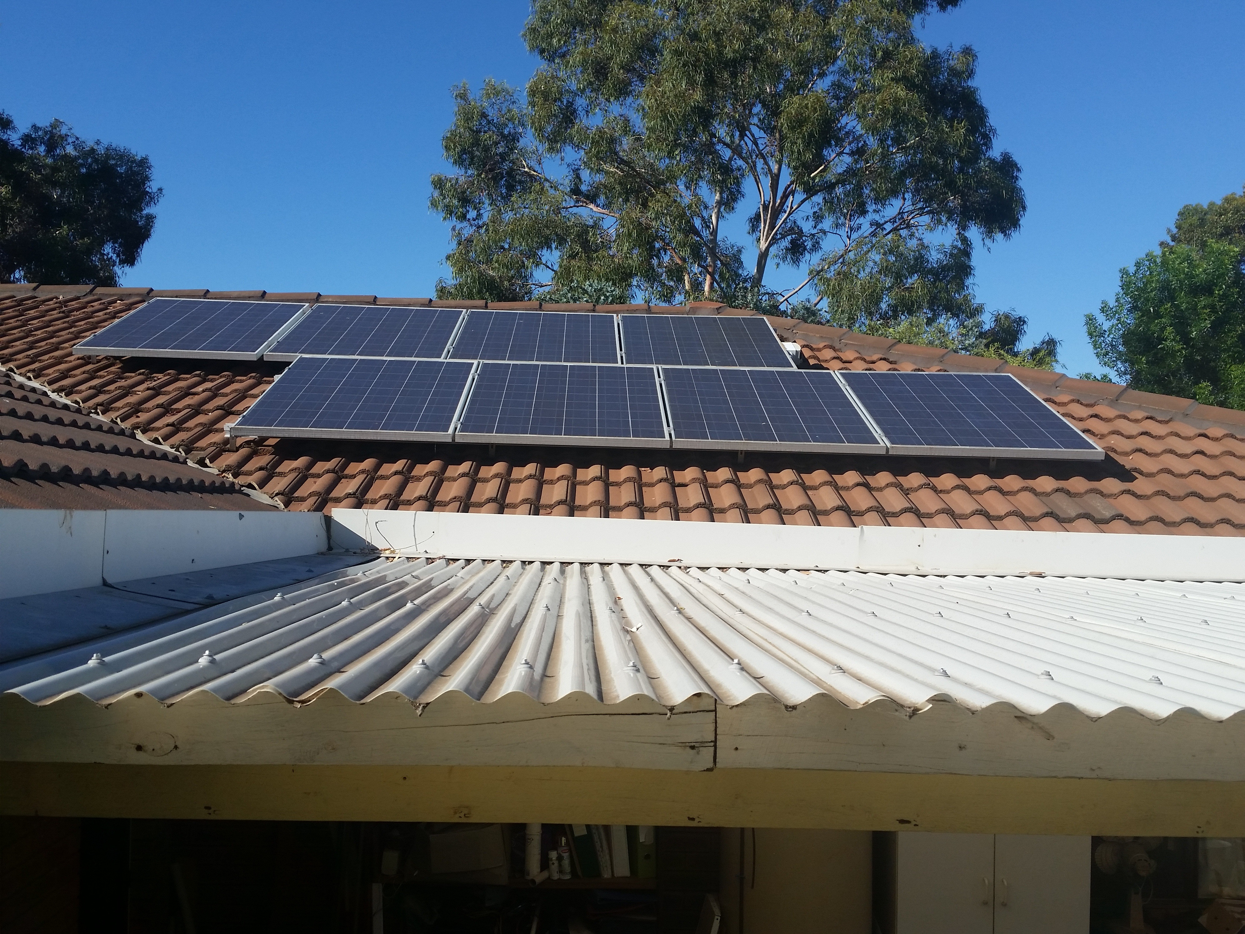 Solar panels on your house