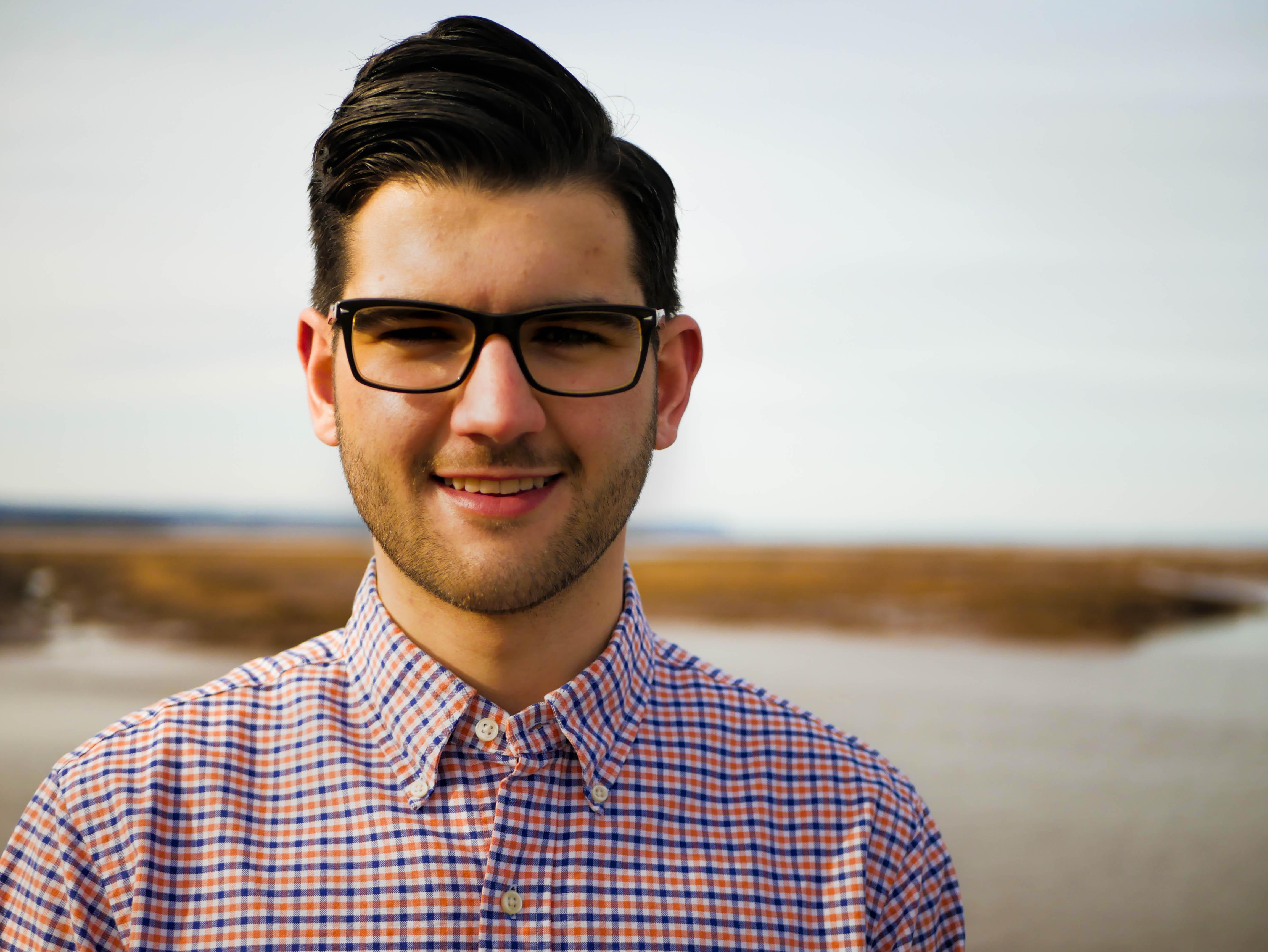 Brett Murray of Creative Tide headshot in Wolfville, Nova Scotia