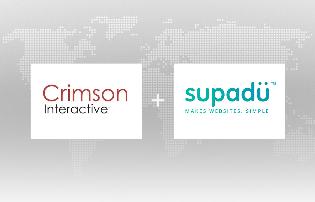 Supadu team up with Crimson Interactive to give publishers a truly global footprint