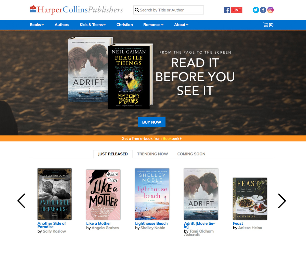 HarperCollins is a longstanding publishing client of Supadu around the world and needed a global solution for its divisions.