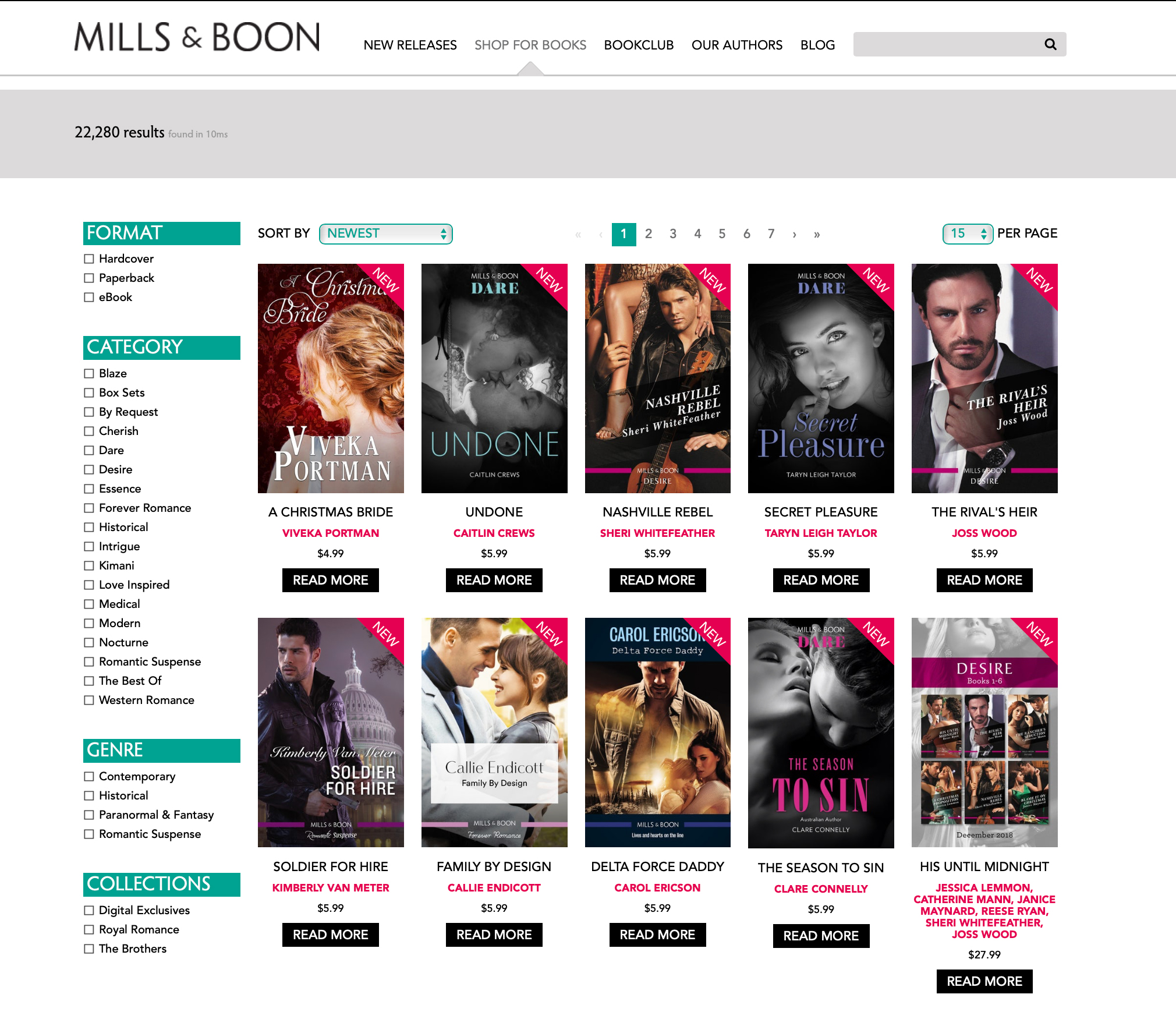 Supadu creates a hybrid Shopify solution for the romance publishers, Mills & Boon