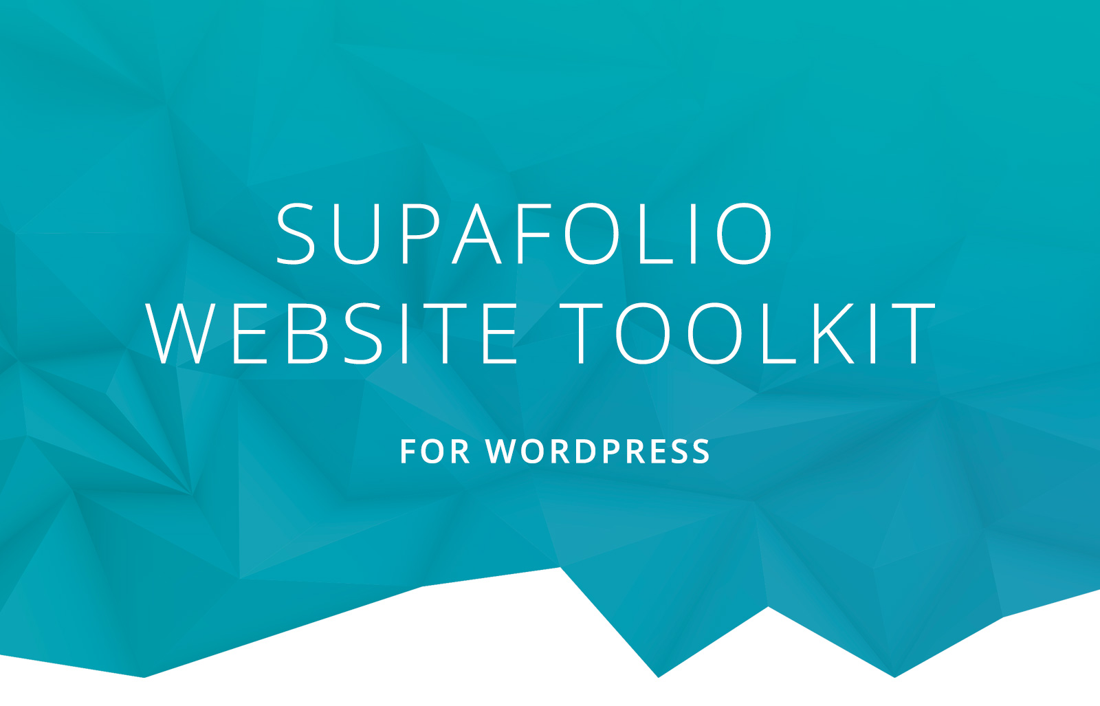 Free up your time and unleash your creativity with Supafolio Website Tool for WordPress