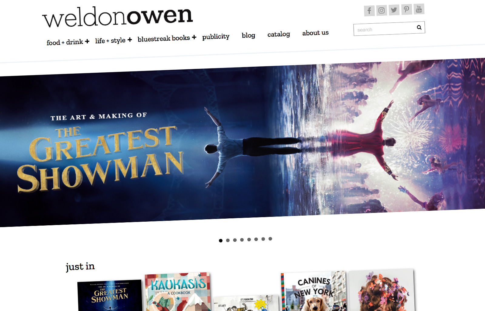 Bonnier imprint Weldon Owen launch new website on Supadu platform