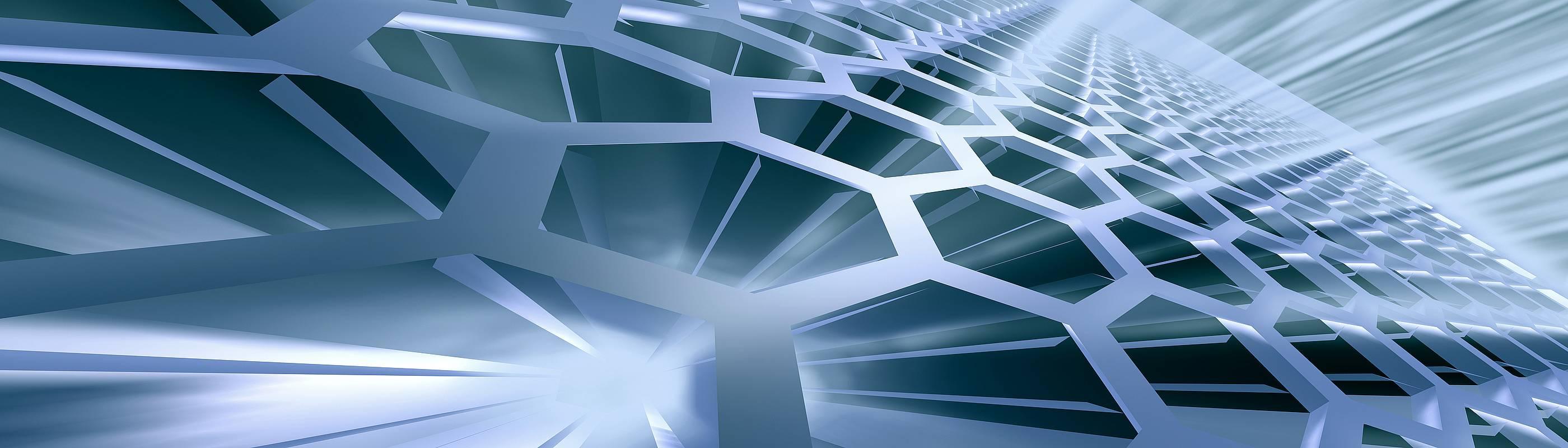 abstract technology representation depicting the technology organization umbrella