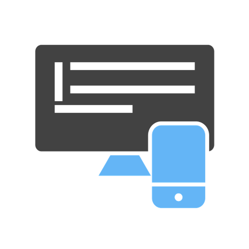 icon representing applications across different devices