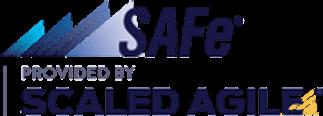 SAFe certified agile professional logo