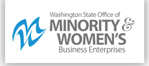 Logo image 'The Office of Minority and Women's Business Enterprises'