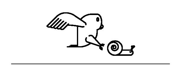 Illustrazione predatori lumaca