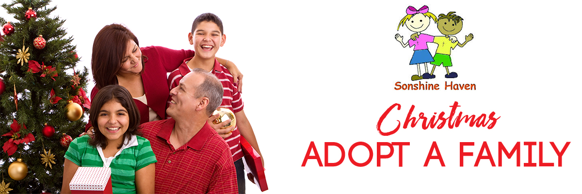 Help us adopt a family this Christmas