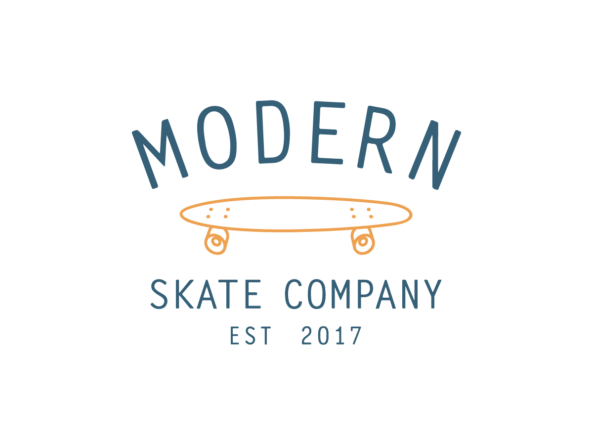 Modern Skateboards logo