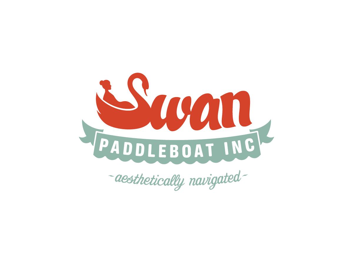 Swan Paddleboat logo