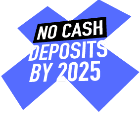 Canopy No Cash Deposits by 2025