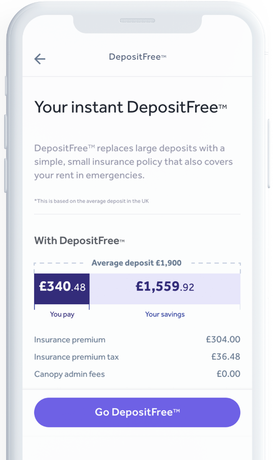 Canopy - DepositFree - How it works