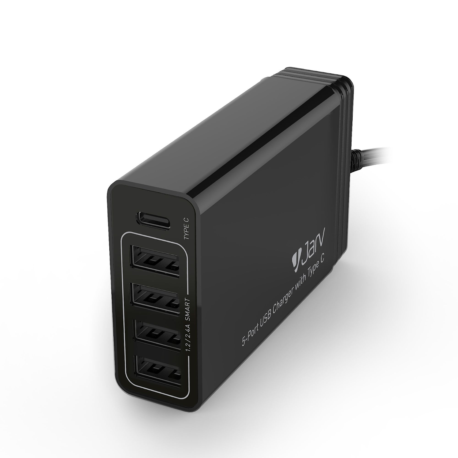 Jarv 40W 5-Port USB Charger