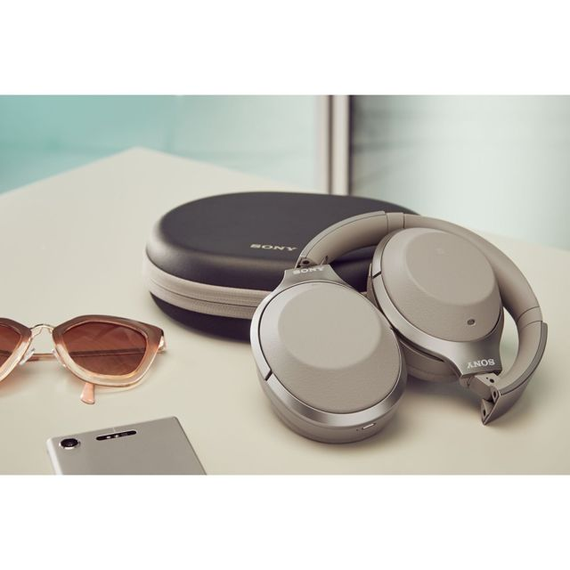 Sony 1000XM2 Wireless Noise Canceling Headphones