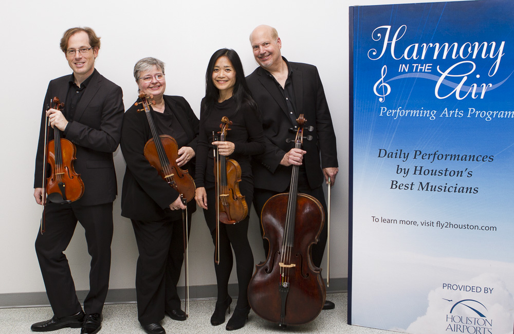 harmony in the air performing arts quartet