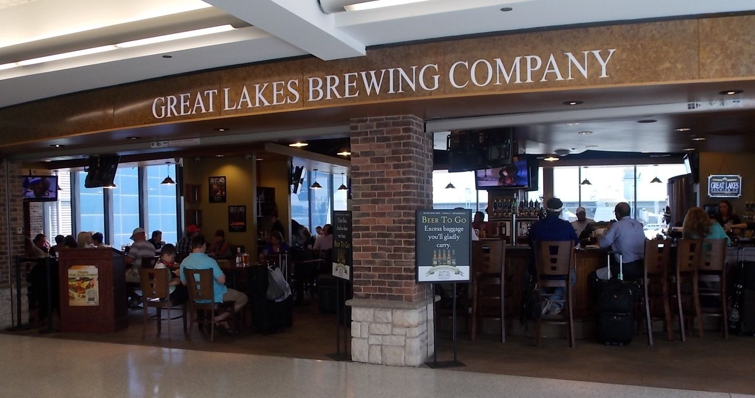 great lakes brewing company airport restaurant