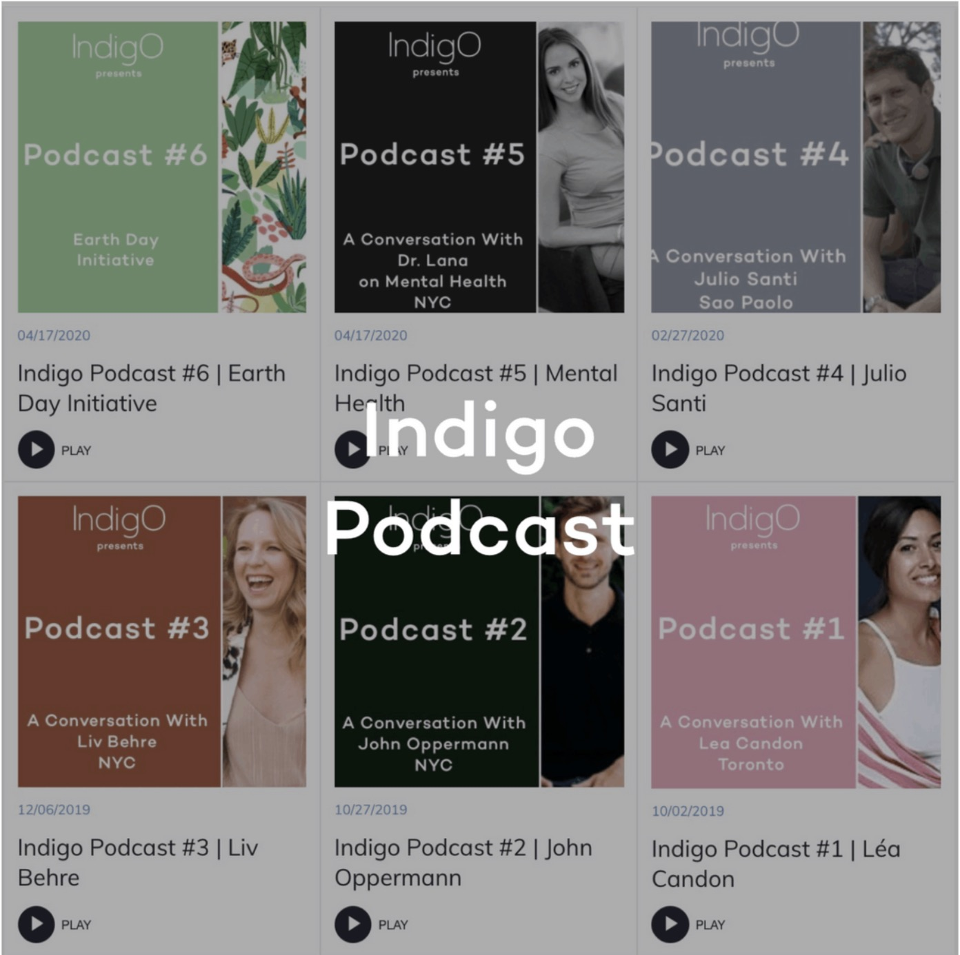 Indigo Official Podcast featuring achievers and inspiring members