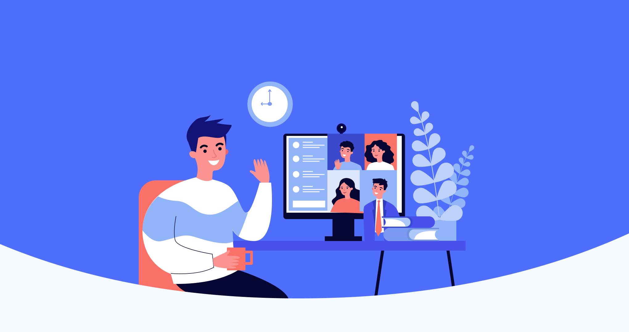 Comment donner un bon feedback à un collaborateur en plein télétravail?