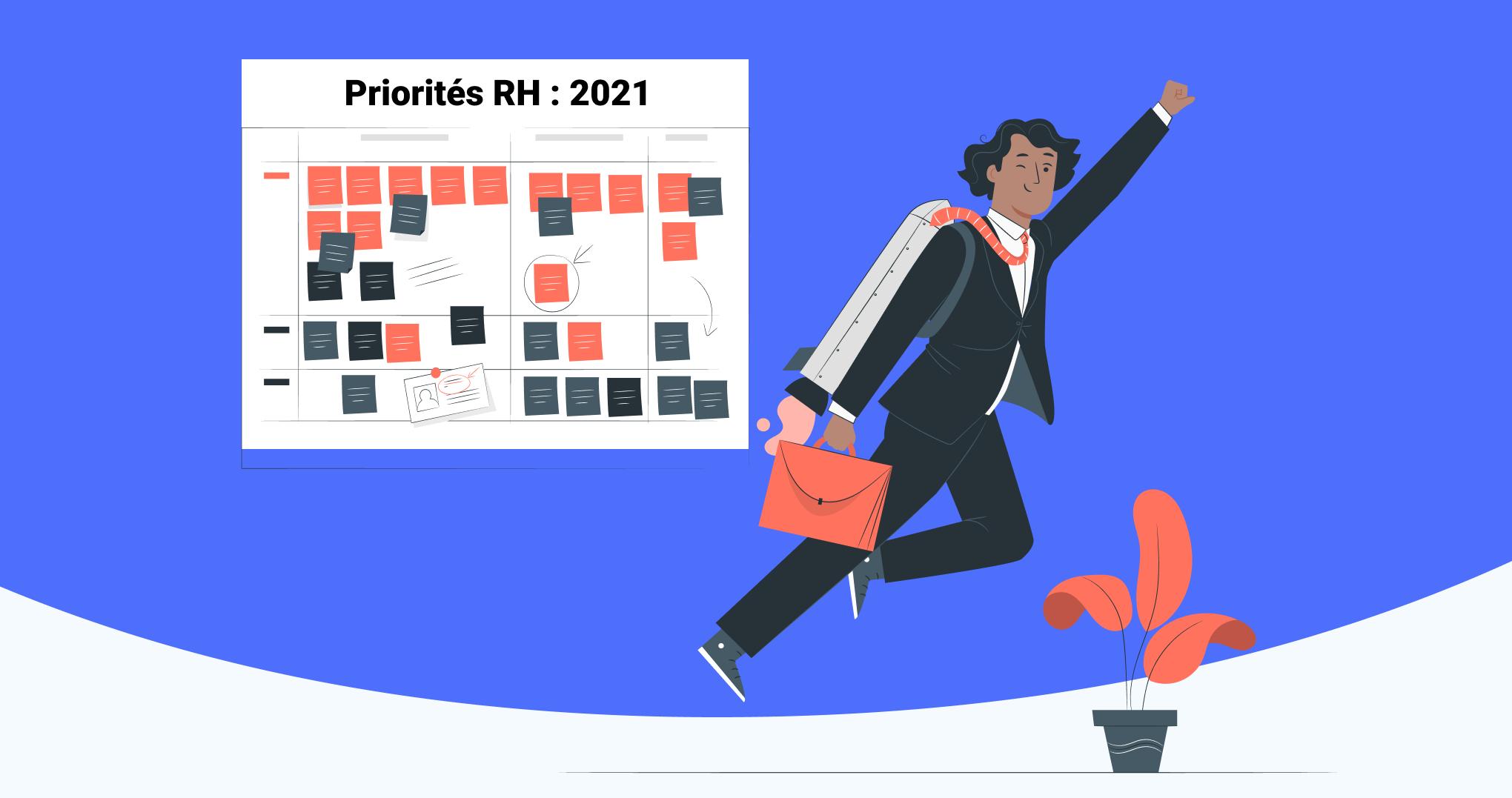 7 Priorités RH pour 2021