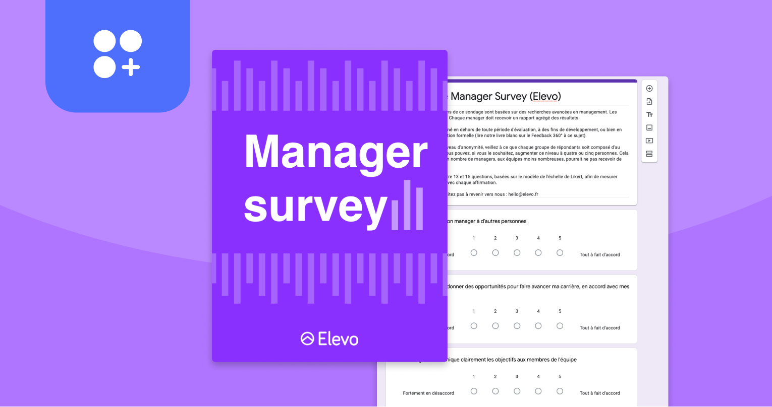 Elevo - The Survey Manager's Guide