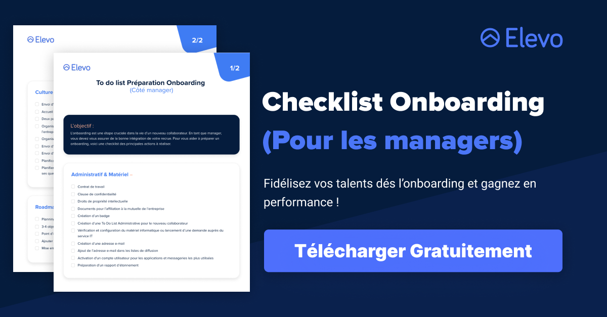 La To Do List Préparation Onboarding