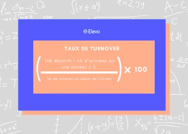 Calcul du taux de turnover