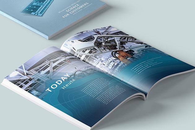 Konzeption und Gestaltung Geschäftsbericht
