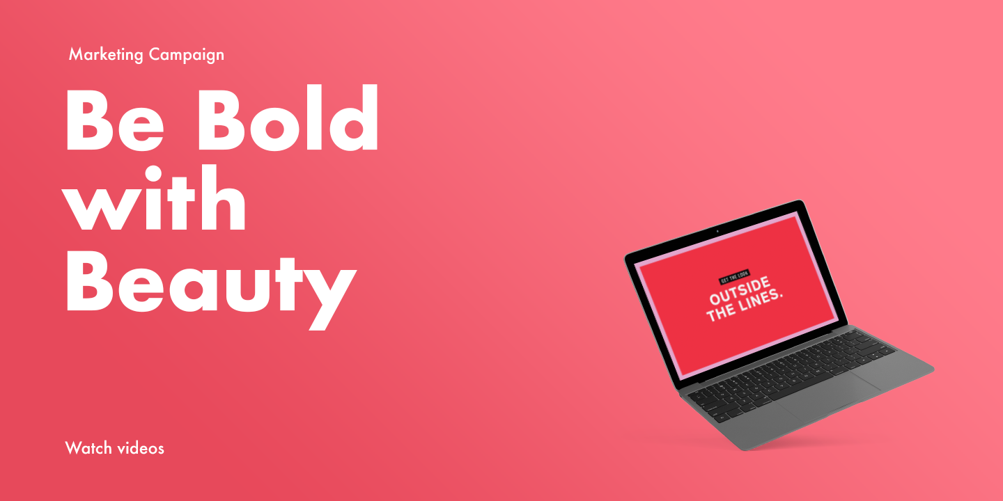 """""""Be Bold With Beauty"""" campaign for Shoppers Drug Mart"""